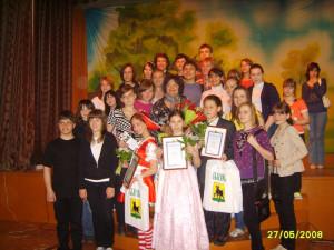 Фото на память с участниками кинофестиваля