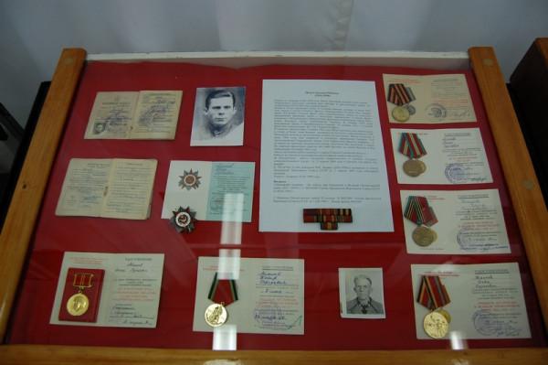 Фото-документальная часть экспозиции