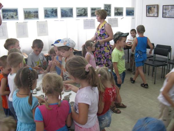 детский сад на выставке