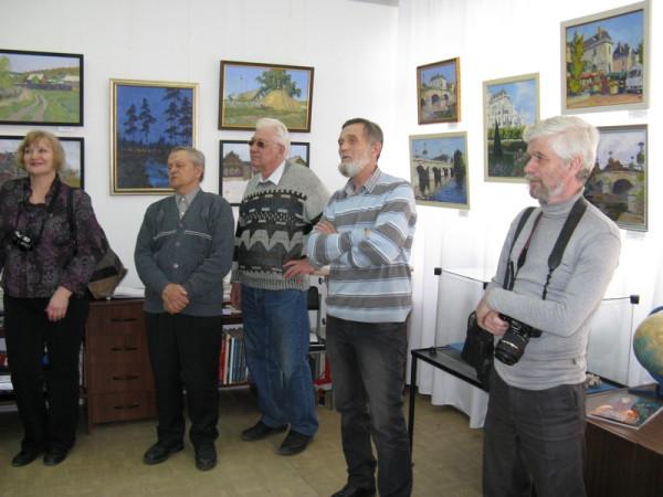 Студия сызранских художников на открытии выставки