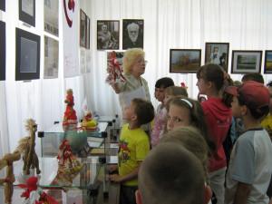 пришкольный лагерь летнего отдыха на выставке