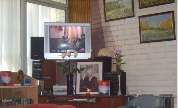 В Доме Рерихов 7 августа 2011г.