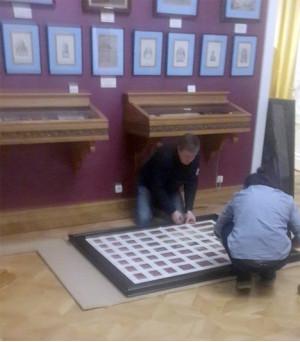 В залах музея 7 марта 2017 г. изъятие картин