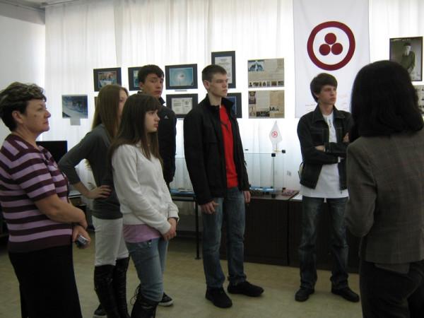 учащиеся 11 класса 10 школы г. Сызрани