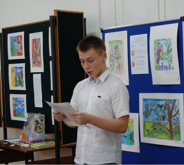 Владислав Кричмарь читает рассказ из книги