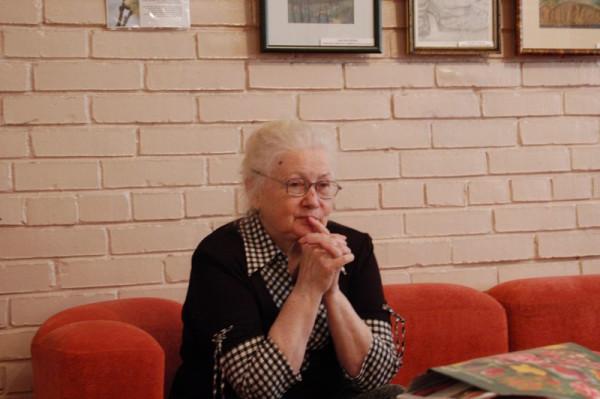 Галина Ивановна Кальжанова ( фотография выполнена 6 мая 2008 г.)