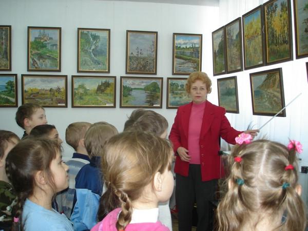 экскурсия на выставке