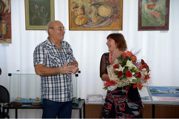 Поздравление от имени друзей - художников прозвучали от А. А. Леднева