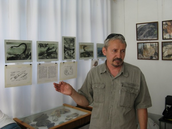 В.Ю. Поплоухин на открытии выставки