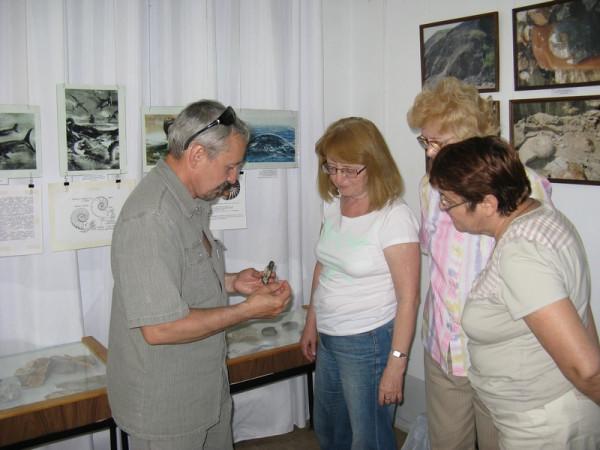 На встрече (слева В.Ю. Поплоухин)