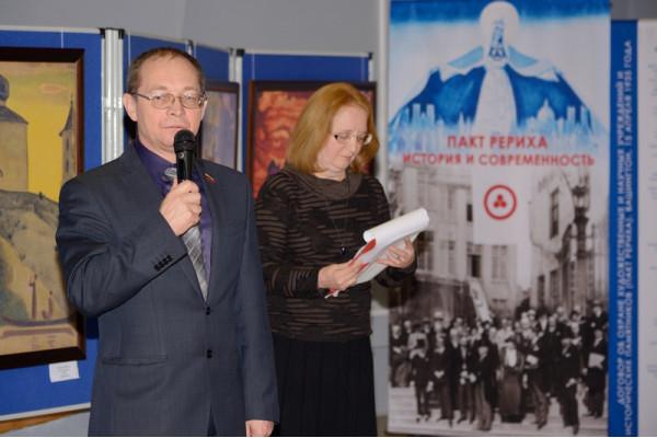 Выступает председатель Думы городского округа Сызрань С.Н. Ананьев