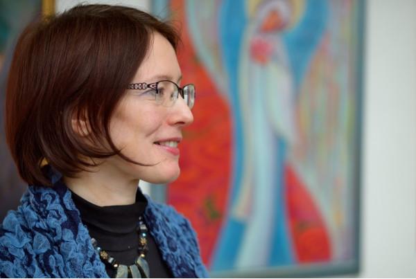"""Феодосия - автор выставки """"Небесный терафим"""""""