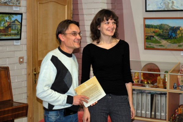 Александр Богданов и Мария Гаврилова