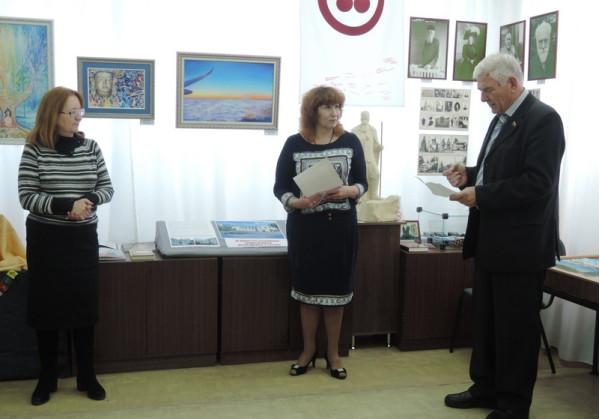 В стихотворной форме автора поздравил депутат А.Н. Лексин